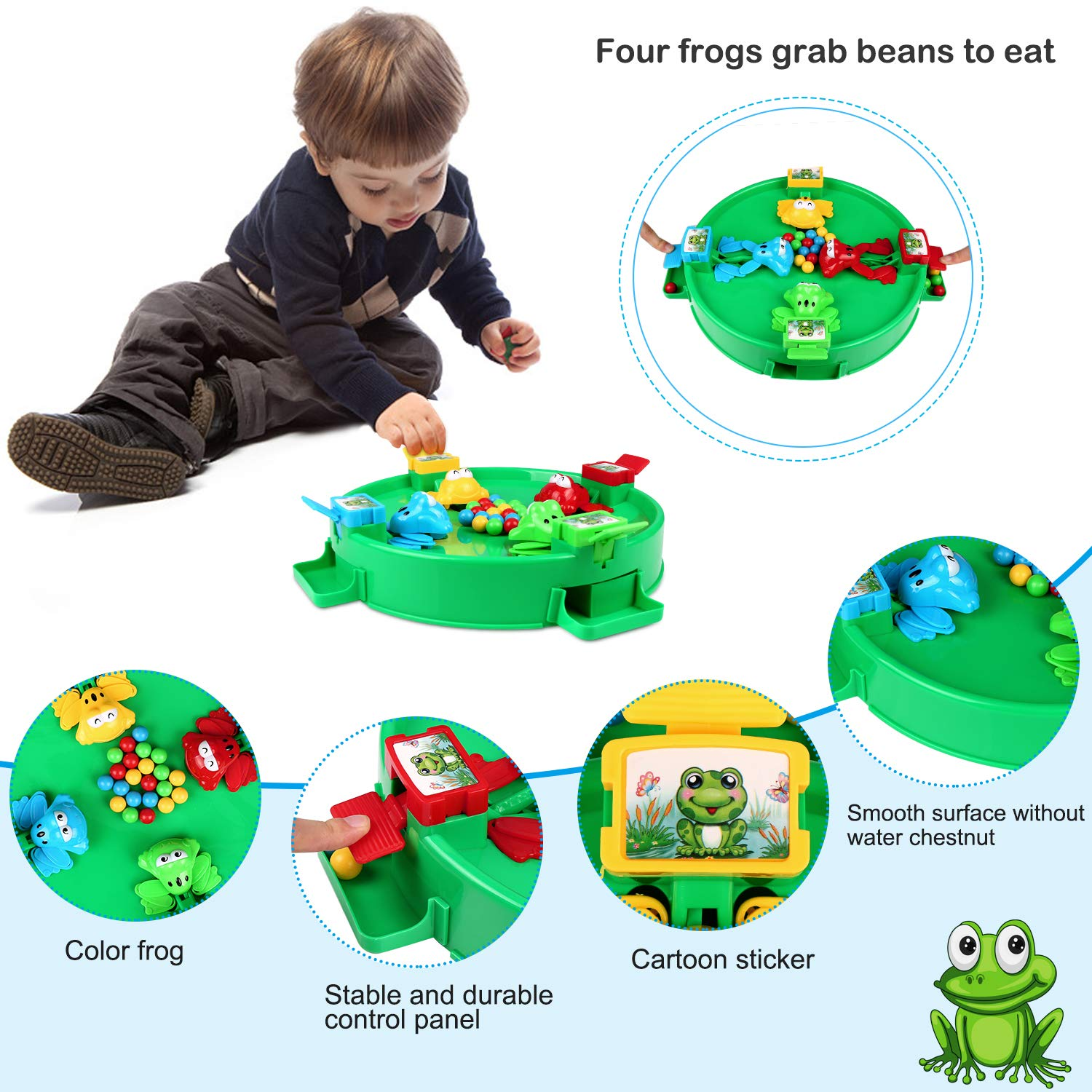 ZJTL Toddler Fishing Boat Toy with Wheeled,Movable and Portable Funny Fishing Game Promote Friendship Create Beautiful Time can Exercise Children/'s Imagination and Thinking Ability can Exercise Childrens Imagination and Thinking Ability
