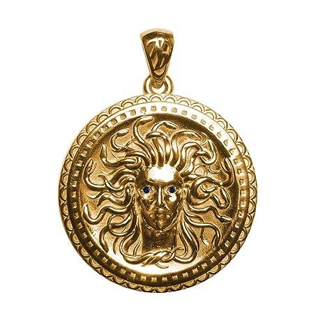 Talisman amuleto escudo Gorgoneion reprensión o pan: Amazon.es ...