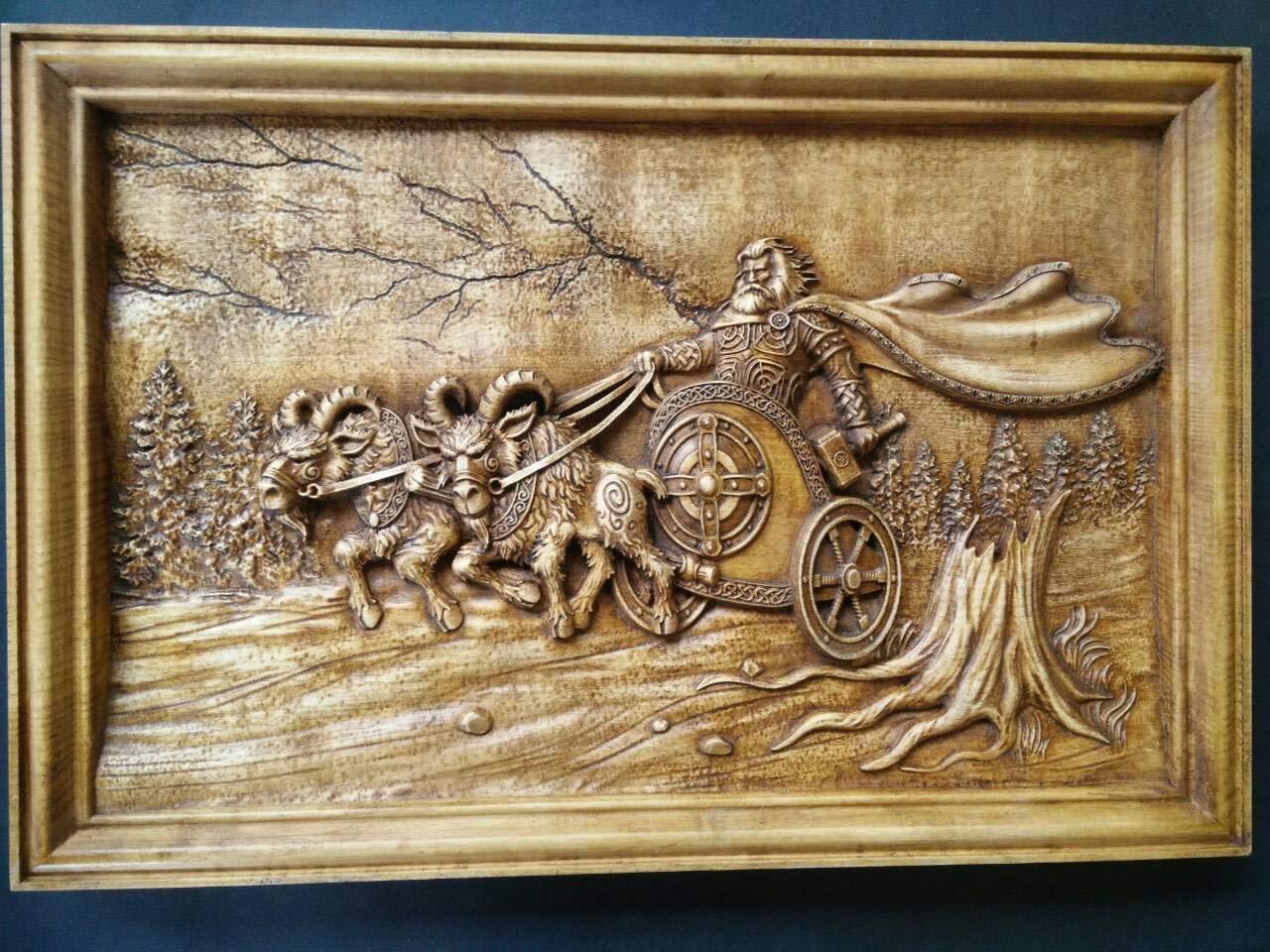 Handmade Viking Ship Photo Frame bronze