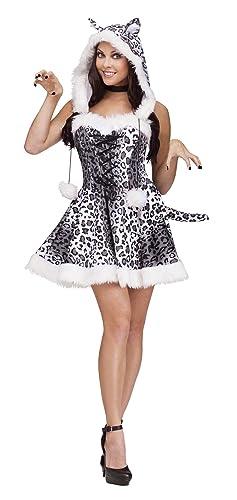 Amazon.com: Fun World Costumes Women\'s Snow Leopard Adult Costume ...