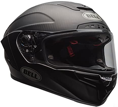 Bell Race Star Full-Face Motorcycle Helmet (Solid Matte Black, Small)