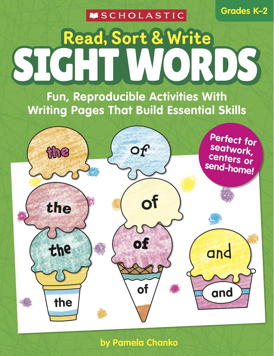 Amazon com: Read, Sort & Write: Sight Words: Fun