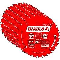 "Diablo D0724A 7-1/4"" 24T Diablo™ Circular Saw Framing Blade"