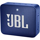 JBL GO2 Ultra Portable Waterproof Wireless Bluetooth Speaker with up to 5 Hours of Battery Life - Blue