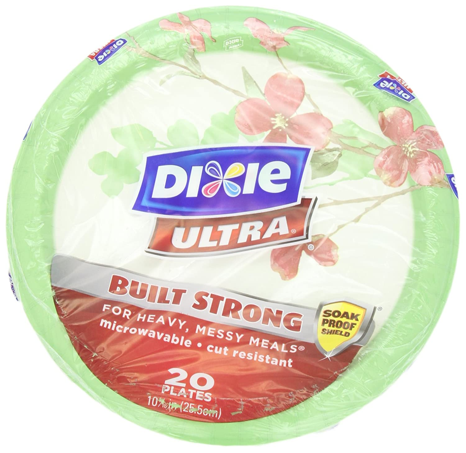Amazon.com Dixie Ultra Modern Romance Plates 20 Count 10.0625 Inch Health \u0026 Personal Care  sc 1 st  Amazon.com & Amazon.com: Dixie Ultra Modern Romance Plates 20 Count 10.0625 ...