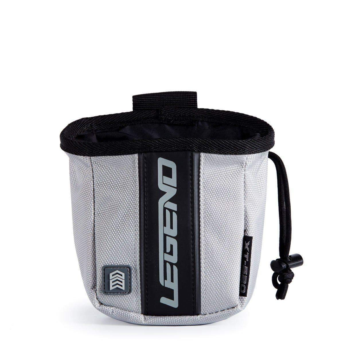 Legend Archery Release Aids Pouch Bag with Belt Loop Draw String and Zipped Pocket XT520 (Grey) by Legend