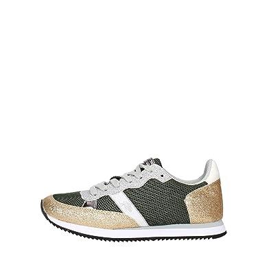U.S.Polo ASSN. - Zapatillas de Goma para Mujer Verde Verde Verde ...