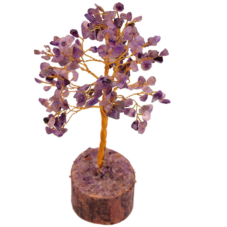 Amethyst Chakra Healing Crystals Money Tree Natural Feng
