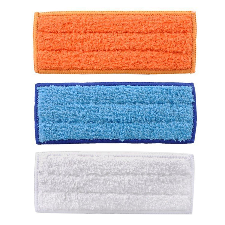 3 piezas de almohadillas lavables Almohadillas de barrido Reemplazo de tela para iRobot Braava Jet 240 241 Robots limpiadores Accesorios Gosear