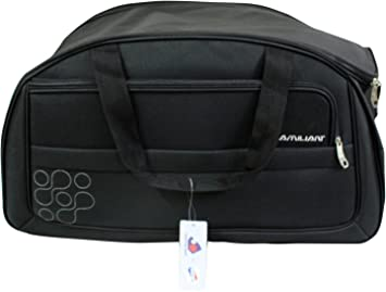 b6359cb3d71 Image Unavailable. Image not available for. Colour  American Tourister  Kamiliant Gaho 57 Black Duffle Bag