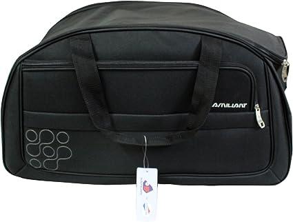Image Unavailable. Image not available for. Colour  American Tourister  Kamiliant Gaho 57 Black Duffle Bag d6d787258cf8c