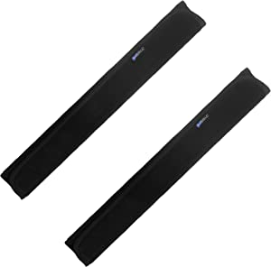 Bluecell 2PCS 14.5inches Soft Velvet Neoprene Kitchen Appliance Decor Refrigerator Handle Covers, Door Handle Covers Sleeve Protector Gloves