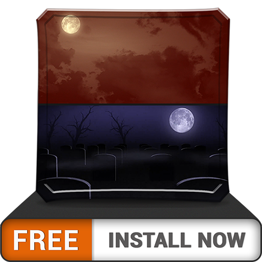 Scary MoonLights HD - FREE Wallpaper & Themes