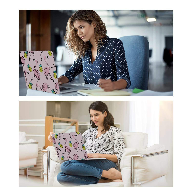 MacBook Pro Retina Case Summer Fashion Cute Fruit Pineapple Plastic Hard Shell Compatible Mac Air 11 Pro 13 15 MacBook Air Case A1466 Protection for MacBook 2016-2019 Version