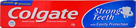 Colgate Strong Teeth - 50 g Toothpaste at amazon