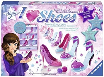 Ravensburger 18535 - kits de artesanía para niños, I love shoes