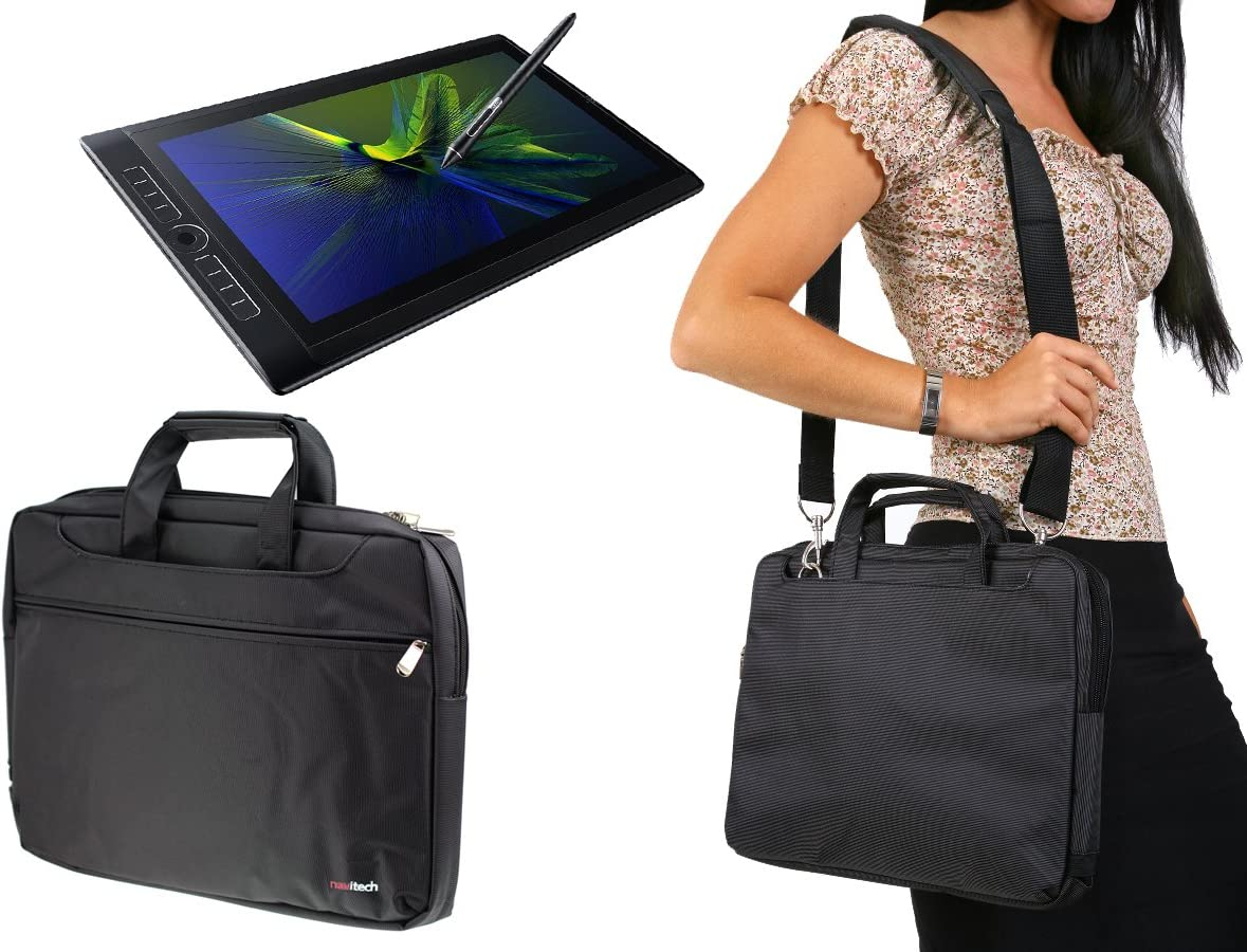 Navitech Grey Graphics Tablet Case//Bag Compatible with The Wacom Intuos Pro Pen Tablet Size: M //Medium Professional Graphic Tablet