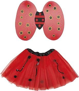 Boland 52866 - Disfraz de Mariquita, Color Rojo y Negro: Amazon.es ...