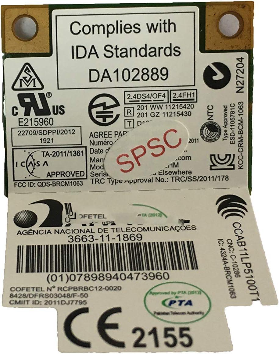 BCM943142HM Wireless LAN Card for Lenovo Z510 Laptop Compatible 20200222 Cbt BCM943142HM 1x1BGN+BT4.0 HMC ####