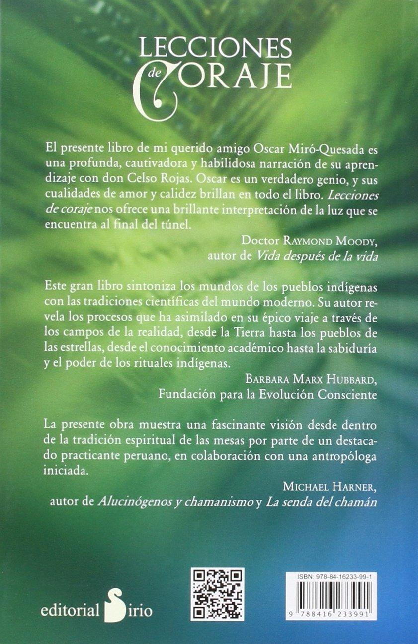 Lecciones de coraje spanish edition oscar miro quesada 9788416233991 amazon com books