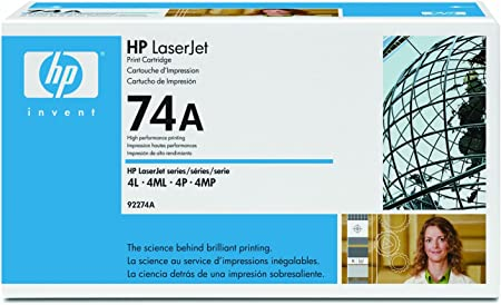 Compatible High Capacity 74A 92274A Black Printer Cartridge use for HP Laserjet Pro 4L 4MP Printer 4Ml 1-Pack 4p