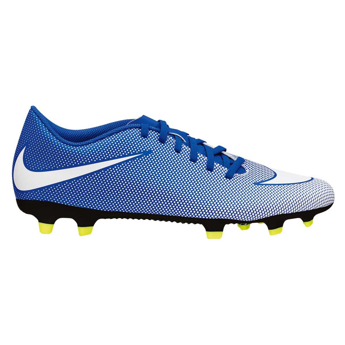 e69eac7db21ff Nike Men s Bravata II FG Blue Football Shoes (7 UK India)  Buy Online at  Low Prices in India - Amazon.in
