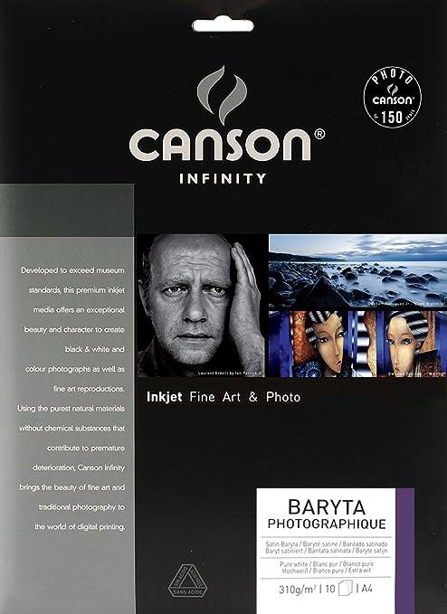Canson Infinity - Papel fotográfico (A4, 10 hojas): Amazon.es ...