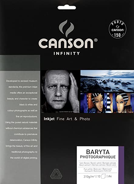 Canson Infinity - Papel fotográfico (A4, 10 hojas)