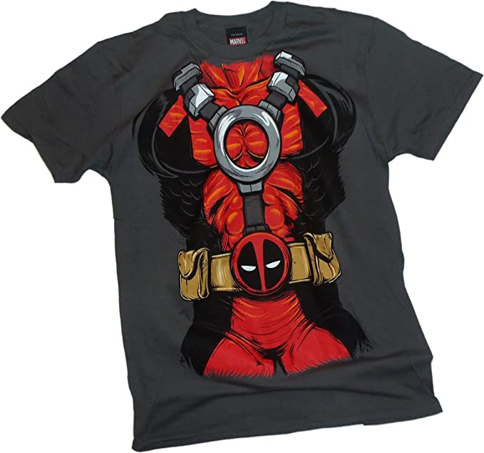 X-Men Deadpool - Traje Camiseta, XXL: Amazon.es: Ropa y ...