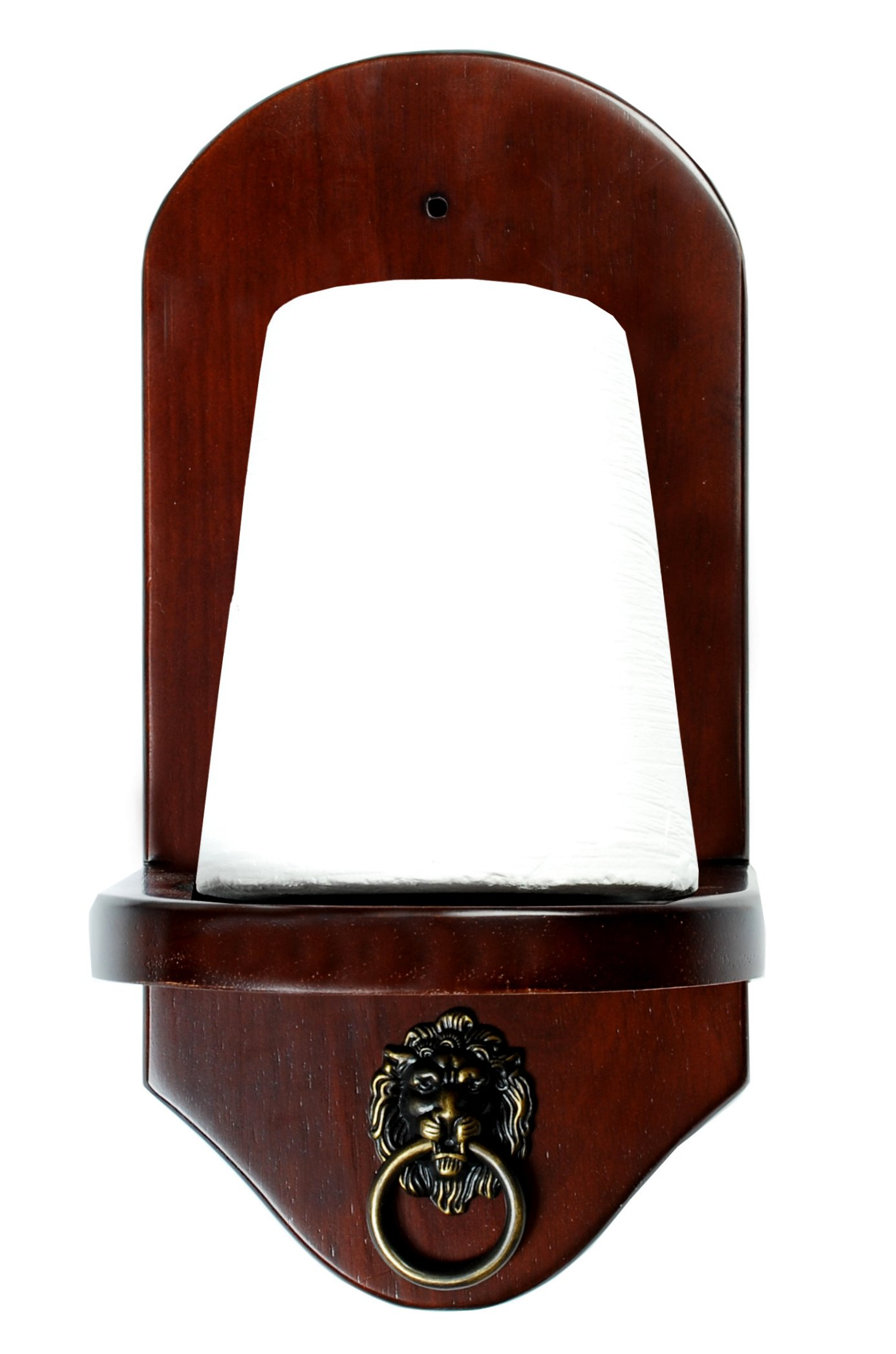 Wall Mount Pool Table Cone Chalk Holder Mahogany With Chalk