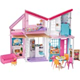 Amazon Com Barbie Pink 3 Story Dream Townhouse Toys Amp Games