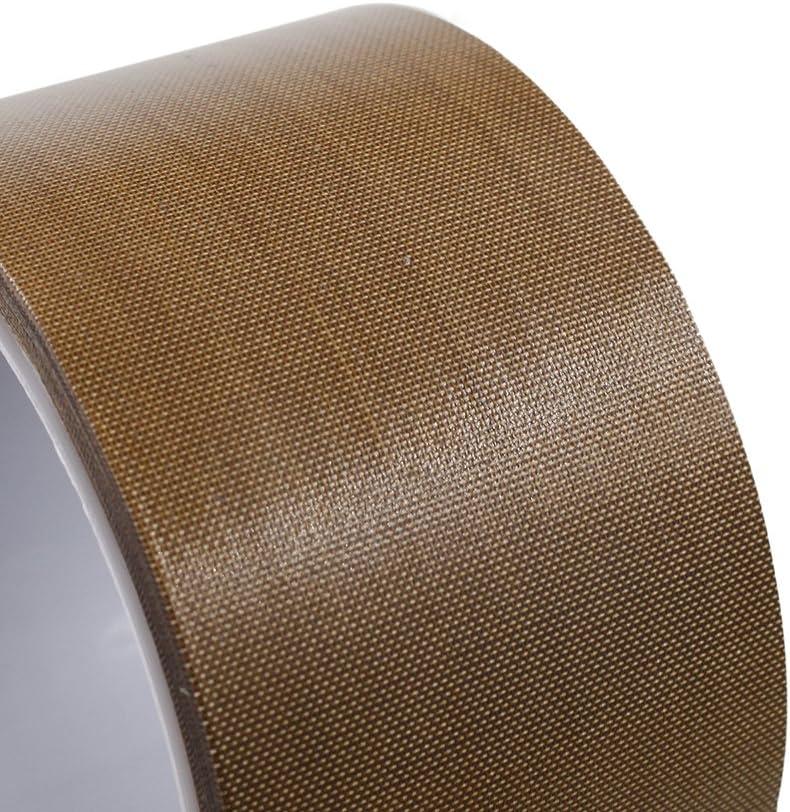 New 15mm*10m Teflon Adhesive Tape Cloth Hi-Temp High Temperature Insulate Roll