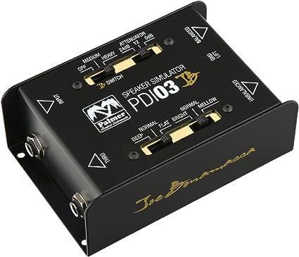 Palmer PDI 03 Joe Bonamassa Signature guitarra simulador de ...