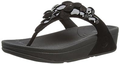 cf87179e01 Amazon.com | Fitflop Women's Fleur Sandal | Flip-Flops