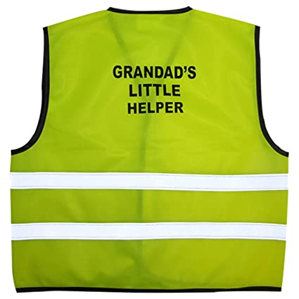 ab27ec1c03bf0 Kids High Visibility Hi Viz Safety Vest Top Hi Vis Baby Waistcoat Childrens  Gift (LARGE (2-3 YEARS)