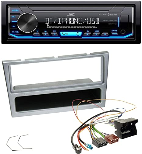 Caraudio24 Jvc Kd X351bt Aux Usb Bluetooth Mp3 Elektronik
