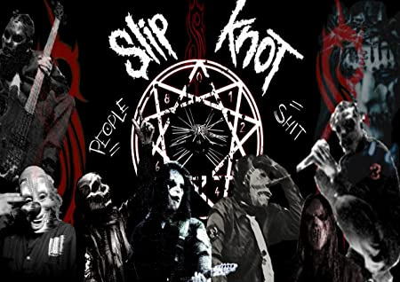 Slipknot 8 Shawn Crahan Paul Gray Corey Taylor Gary Holt Paul