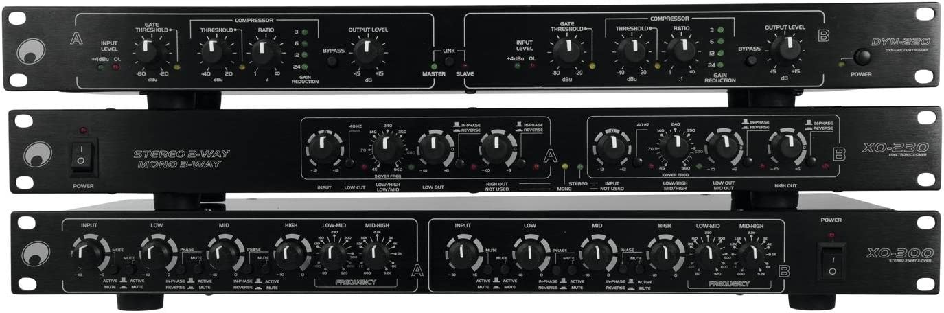 Omnitronic XO-230 Crossover Attivo