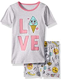 dde16e78a53 The Children s Place Big Girls  Novelty Printed Shorts Pajama Set