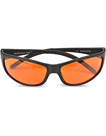 75a02f806190f Blue Blocking Amber Glasses for Sleep - BioRhythm Safe(TM) - Nighttime  Eyewear -