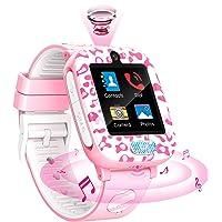 Fitonme Reloj Inteligente para niños,Reloj Inteligente Teléfono niños niñas con HD Pantalla táctil Música Cámara Juego…