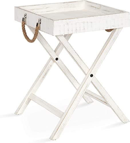 Kate and Laurel Bayville Vintage Tray Table