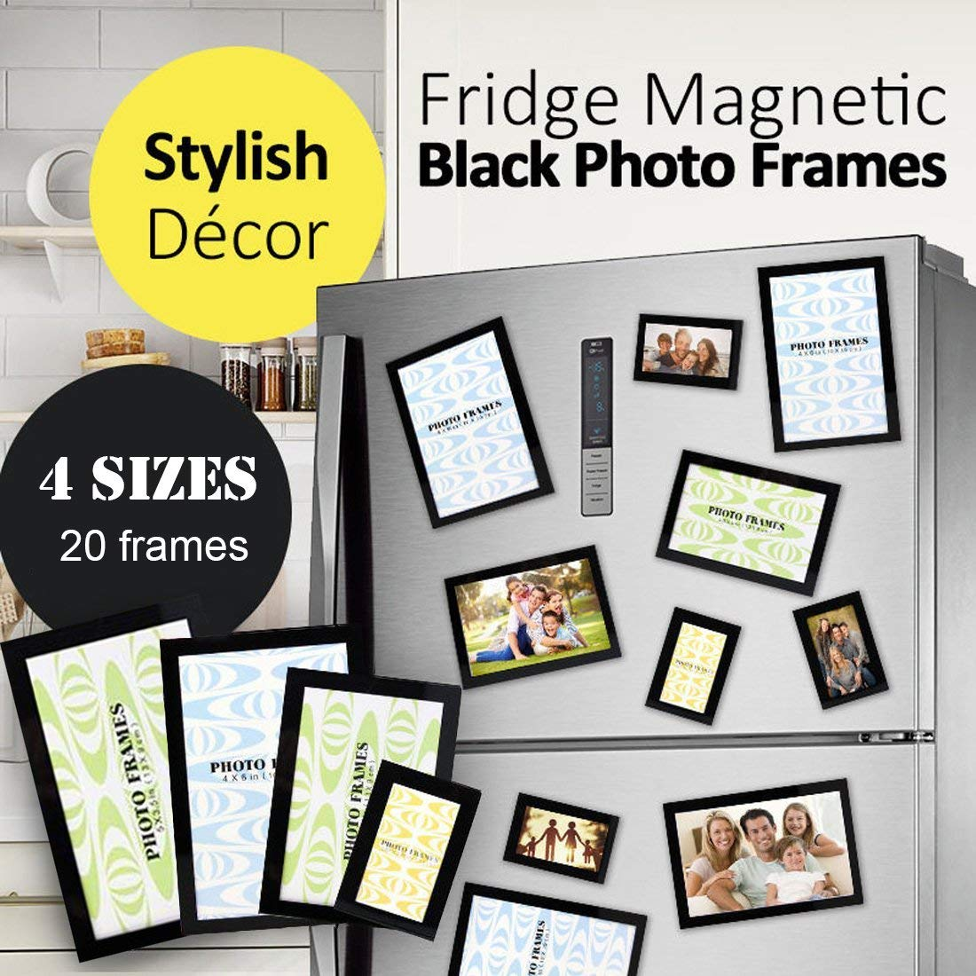 96d108d3f37c Magnetic Photo Picture Frames and Refrigerator Magnets