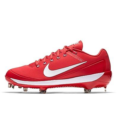 timeless design 0e9df 65561 Nike Mens Air Clipper 17 Metal Baseball Cleats (9 M US, University Red