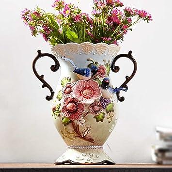 Amazon.de: GAODUZI Kreative Pastoralen Große Keramik Vasen ...