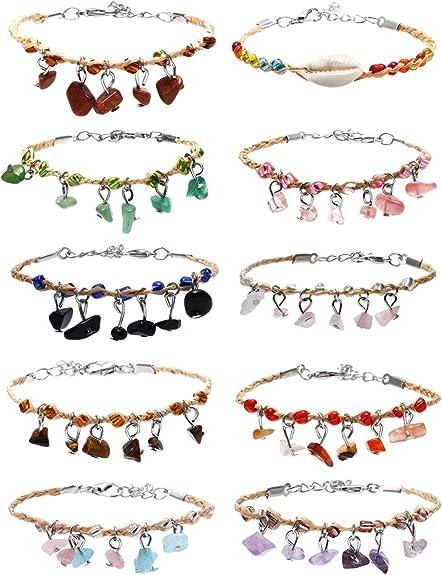 Woven Friendship Bracelet Stackable Leather Bracelet Choose Colors Womens Braided Leather Bracelet