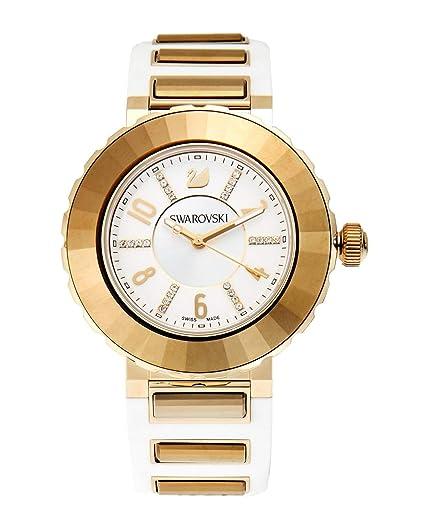 Swarovski Reloj Octea Sport luz blanca oro tono 5040559 edición especial Swiss Made: Swarovski: Amazon.es: Relojes