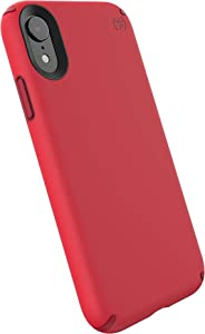 Speck Products Presidio Pro iPhone XR Case, Heartrate Red/Vermillion Red
