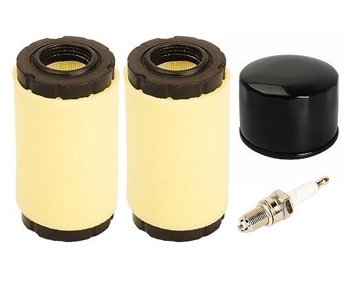 OxoxO Filtro de aire pre-filtro de aceite con bujía para ...