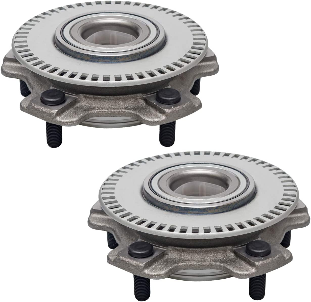 Front Wheel Bearing and Hub Assembly Compatible With 2001-2004 Chevrolet Tracker 01-05 Suzuki Grand Vitara 01-04 Vitara 02-06 XL-7 5 Stud Hub TUCAREST 513193 x2 Pair